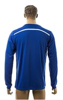 Wholesale 2014 New Chelsea Home Blue Thai Quality Soccer Long Sleeve Jersey For Adults Football Club Full Jerseys