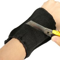 Wholesale New High Quality Black Safety Protection Stab Resistance Cut Proof Armband Sleeve Arm Guard Bracers