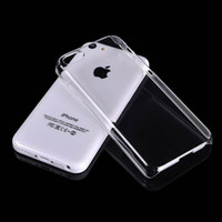 For Apple iPhone iphone 5c - 100pcs High Grade DIY Crystal Clear Hard Phone Cases Ultra Thin Plastic Transparent Cover For iphone c Case