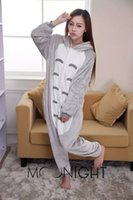 Wholesale Unisex Cute Pyjamas Adult Jumpsuit neighbor totoro sleepwear My Neighbor Totoro Cosplay