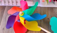 ad cm - cm plastic colorful wooden windmill toy photography ad props children s classic