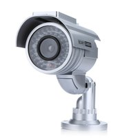 Wholesale Solar Powered Fake Dummy Security Camera with LED Light Indoor Outdoor Waterproof S191