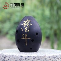 Wholesale Features arts and crafts ancient Xun pure play classical instruments for beginners learning portal Xun eight holes Clay Do not w