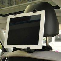 car holder for 7 inch tablet - Universal Adjustable Car Mount Headrest for iPad Mini inch Tablet PC GPS DVD Holder Bracket Clip Car Seat Holder Stand black