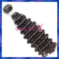Cheap Brazilian Deep Curly Virgin Hair 3 Bundles Lot Remy Human Hair Extensions Wholesale 6A Brazilian Curly Virgin Hair Bundles