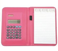 advertising sheet - Calculator notebook advertising the company business gifts exhibition souvenir gifts custom printed logo annual meeting