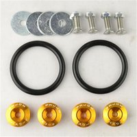Wholesale 4pcs set JDM Style Fender Washers Bumper Washer Lisence Plate Bolts Kits for CIVIC