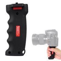 Wholesale 5PCS High quality Grip Handheld Wide Platform Pistol Grip Camera Handle with Screw for SLR DSLR DC Canon Nikon Sony Tripod