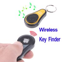 Wholesale Wireless Super Electronic Key Finder Anti Lost Alarm Keychain in1 RF freeshipping dropshipping
