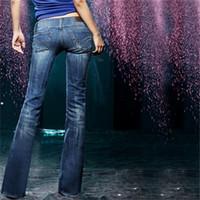 bell bottom jeans - DK Jeans2 Good News Women s Mid Waist Jeans Fat MM Show Thin Trousers Bell Bottom Pants