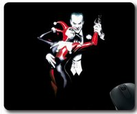 batman mouse pad - Custom New Batman Joker Harley Quinn Mouse Pad x18cm Rubber Material Mouse Mat