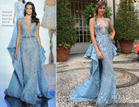 Reference Images ana beatriz barros - Ana Beatriz Barros In Zuhair Murad Wedding Prom Dresses Sheer Neck Mermaid Long Gorgeous Elegant Evening Gowns With Bead Sequins Vestidos