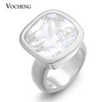 Cheap VOCHENG Endless Charms Real Gold&Platinum Plated Brass Material CZ Stone Charm for 6mm Garden Bracelet VC-070