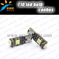 Wholesale Error Free W T10 Canbus Led W5w Smd Car Interior Light Bulb white blue red T10 led Parking Backup Fog Brake Lamps