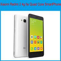 Wholesale xiaomi redmi g lte quad core smartPhones With GB RAM GB ROM inch MP Camera DualSim Android Unlocked Phones