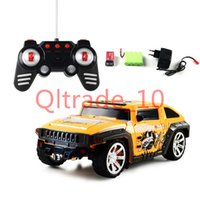 Wholesale 50PCS HHA348 Transform Stunt Car Remote Control Flashing Model RC Car Remote Control Cars Electronic Transformation Robot Flashing