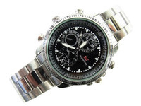 Wholesale Waterproof spy watch Hidden Camera Build in GB Fashionable DV Y589
