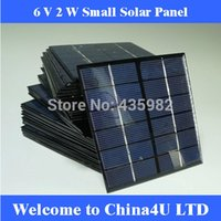 Wholesale 10 V W high efficient monocrystalline polycrystalline solar Panel small resin solar cell PV module DIY solar Kits