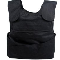Wholesale Outdoor Bulletproof Vest Men Body Armor Proof Tactical Vest Ballistic Waistcoat Concealable Stab Safety Vest Self defense WM0096 salebags