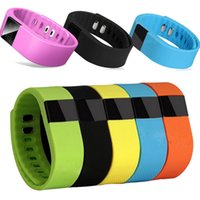 Wholesale TW64 Heart Sleep Tracker Bluetooth Smartband Sport Intelligent Bracelet Smart Band Wristband Pedometer For iPhone IOS Android PK Fitbit