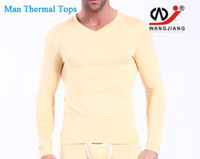 animal skin clothing - ONLY THE TOP Winter Man Thermal Underwear Mens Top Close fitting Tight Long Sleeve Clothing For Men Warm Clothing skin SY