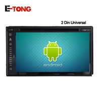 al por mayor tabletas chino india-Qual Core GPS GPS puro Android 4.4.4 Full-Touch Car PC Tablet doble 2din Audio 6.8