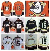 best quali - Factory Outlet Cheap Anaheim Ducks Jerseys Ice Hockey Ryan Getzlaf Jersey Home Alternate Orange White Black All Stitched Best Quali