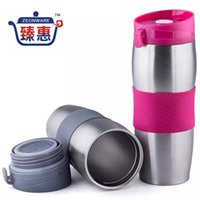 Wholesale ml Thermos Mug Insulated Tumbler Travel Cups Stainless Steel Thermo Vacuum Cup for Office For Travel