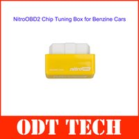 car chip programmer - Best Plug and Drive NitroOBD2 Performance Chip Tuning Box for Benzine Cars with English User Manual