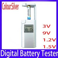 Wholesale 3V V V V digital battery tester checker MOQ