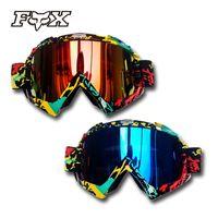 off road dirt bike - 2015 Fox Motorcycle Motocross Helmet Goggle Dirt Bike Downhill Glasses Motocross Off Road Eyewear ATV Gafas