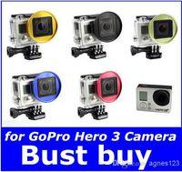 camera filter lens adapter - New mm UV CPL ND Lens Filter Adapter Ring for GoPro Hero Camera hight quality