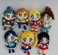 anime plush doll sailor moon - New Janpanese Anime Cartoon Sailor Moon Plush Toys Dolls cm Christmas Gift set