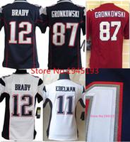 kids jerseys - 2016 New Logo Patriots Youth China Cheap Jerseys Tom Brady Elite Stitched Kids Jerseys Mix Order Accept