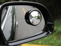 Wholesale 2pcs set Universal Round Stick On Convex Rearview Blind Spot Mirror Set New Practical Car Blackspot Wing Mirror A13