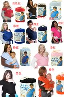 Wholesale DHL free colors Fashion Baby Infant Carrier Sling Moby Wrap NewBorn Comfort Top Selling