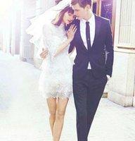 business wear - Wedding Man Tuxedos Wed Formal Occasion Wear Accissories Jacket Pans Tie Groomsman Groom Tuxedos Business Jacket Jacket Pants