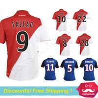 wholesale soccer jerseys - Thai Quality Monaco jersey AS Monaco FC football shirt MOUTINHO FALCAO Soccer jeresy Monaco maillot de foot