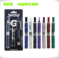 Chrome dry herb - new Snoop Dogg herbal vaporizer blister pack kits e cigarettes wax dry herb atomizer vaporizers herbal vaporizer vapor kits
