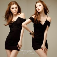adult professional costumes - Strapless dresses ol professional set slim hip skirt tight skirt hot lingerie sexy porn costume adult cosplay donna robe bleu