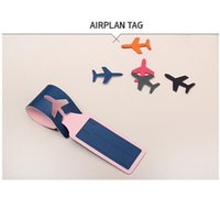 baggage claim tags - 2015 Buckles Aircraft Label Baggage Claim Tag Fashion Bag Parts