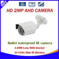Wholesale NEW Product TVL P AHD CCTV Camera Outdoor Waterproof Mini Small Bullet IR MP Security Video Surveillance Cam