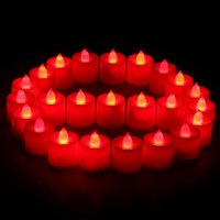 Wholesale Beautiful LED Flameless Candle Set cm for Wedding Party Valentine Events Decoration
