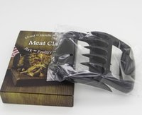 beef gifts - Bear Paws Meat Claws Shred Handle Transfer BBQ Pork Poultry Beef Creative Kitchen Gadgets Food Grade Heat Resistant Plastic Gift Box