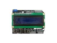 Wholesale LCD x2 v v lcd A LCD display module blue HD44780