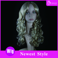 good quality wigs - price good quality Hot sell set Fashion Long Weave Kanekalon Synthetic Fiber Hair Wig H613 DSTS62052