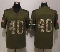 ac servicing - 2015 Newest Salute To Service Men s AC Tillman Green Salute To Service Limited Jerseys Football Jerseys