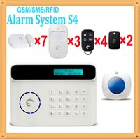 Cheap Free shipping DHL, Mid-night theft alarm system window security alarm system etiger S4 as G5 alarm DIY kit