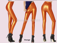 leather pants leggings - Hot Sale Women s PU Leather Leggings Pants High Waist Tight Pants Size Colors