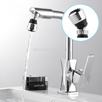 Wholesale 1pcs modern Rotate Swivel Water Bubbler Saving KitchenTap Faucet Aerator Connector Diffuser Nozzle Filter Mesh Adapter A3